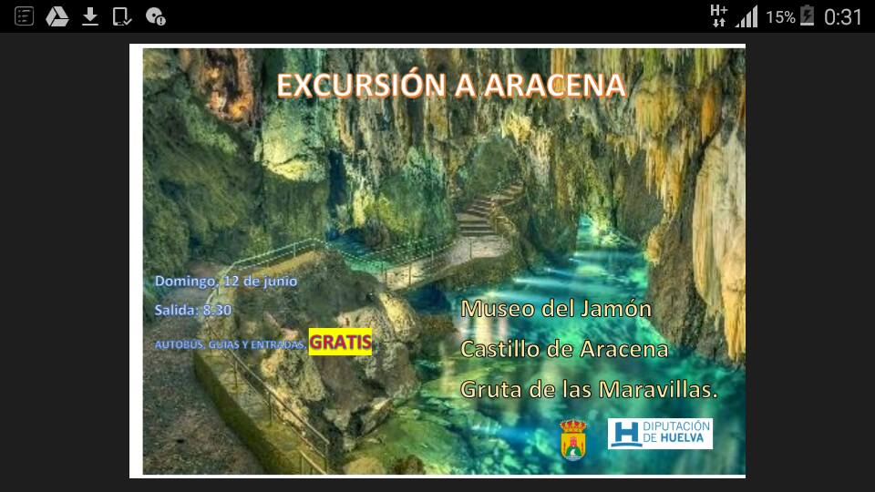 Excursion a aracena for Oficina del consumidor huelva